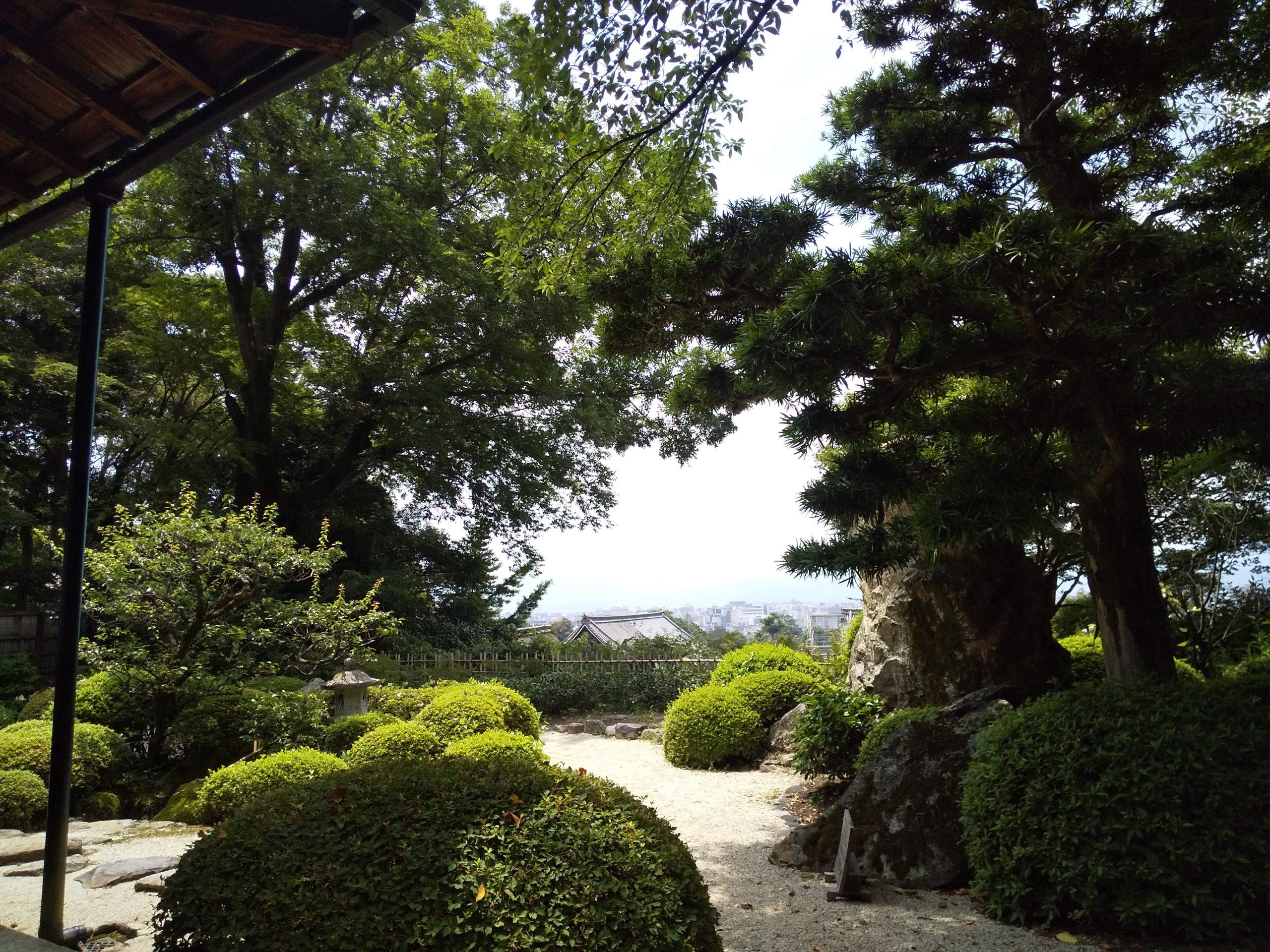 知恩院 山亭庭園