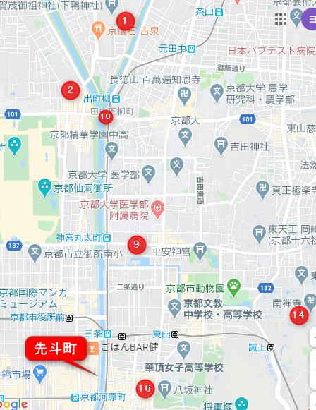 有頂天家族 地図2