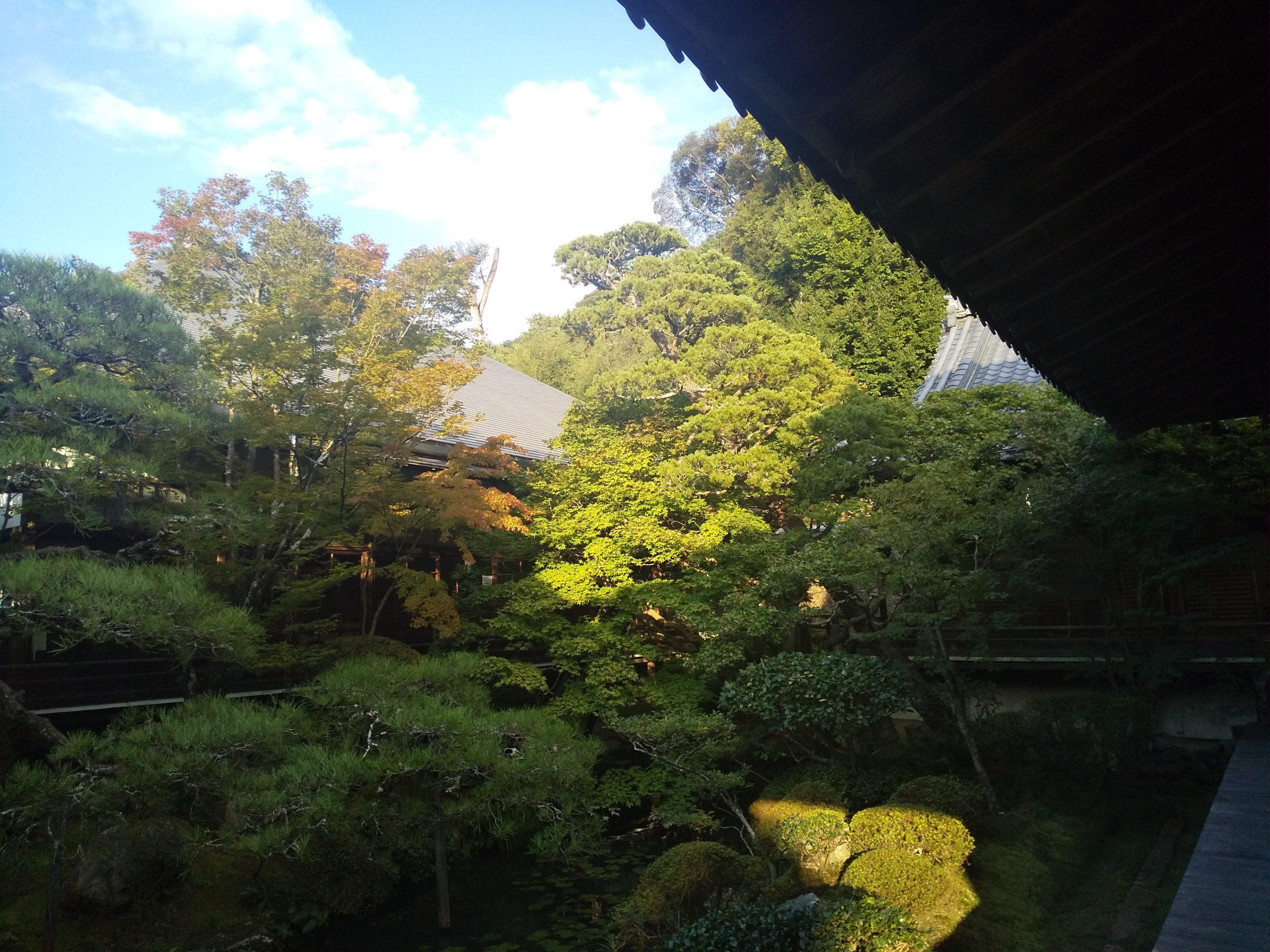 古方丈 お庭