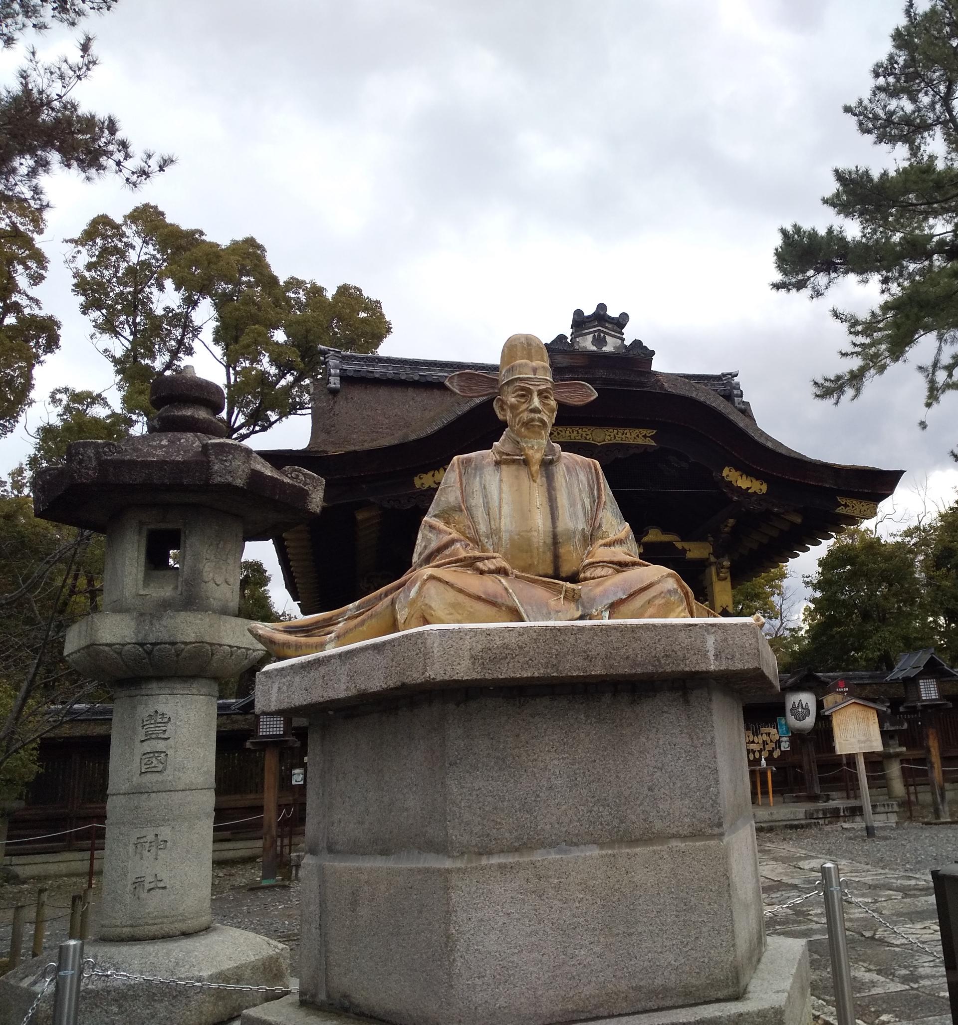 豊国神社 豊臣秀吉像