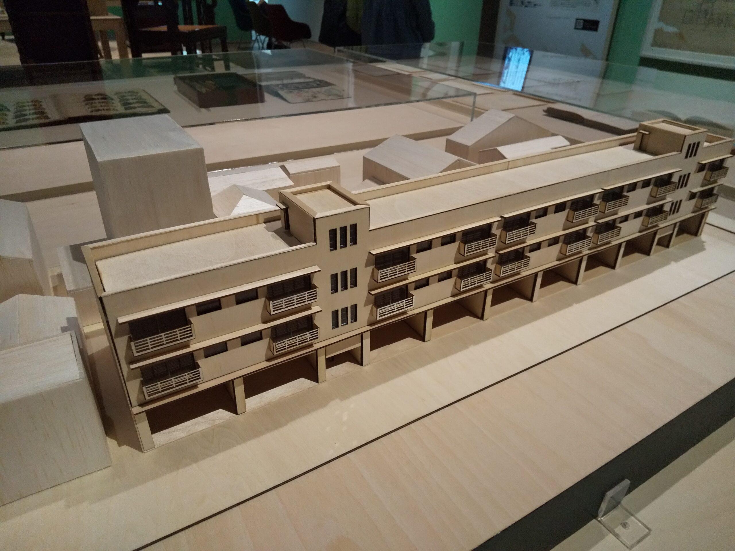 堀河団地 模型